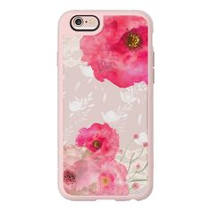 Pink Floral - iPhone 6s Case,iPhone 6 Case,iPhone 6s Plus Case,iPhone 6 Plus Case,iPhone 6 Cover,Clear iPhone 6 Case,Clear iPhone 6s Plus Case (50 CAD) found on Polyvore featuring women's fashion, accessories, tech accessories, iphone case, iphone cover case, clear floral iphone case, pink iphone case, apple iphone case and floral iphone case