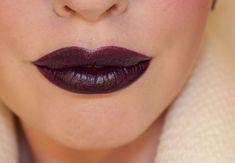 MAC Cyber, gorgeous dark lipstick