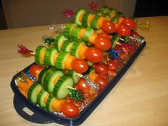 Birthday Rocket vegetable Gemüse Rakete Party Snack