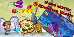 Metal Warrior -Adventure Worlds | ADMOB banner and interstitial-share and review buttons - Price $19