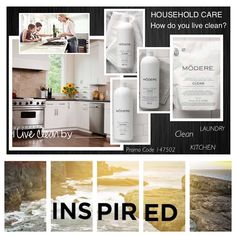 HOUSEOLD CARE  Rest easy knowing that with the Modere Household Collection,…