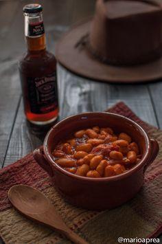Angelorosso goloso: Fagioli rossi in salsa barbecue #ricette #fagioli #cucina #texmex