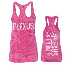 Plexus Burnout Racerback Tank Shocking Pink – Plexus Spirit