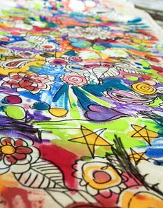 doodle fabric