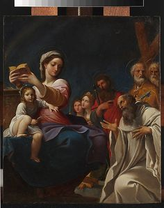 Madonna and Child with Saints  Ludovico Carracci  (Italian, Bologna 1555–1619 Bologna)  Date: 1607