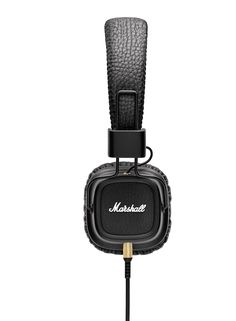 The Marshall Major II features an enhanced sound stage, removable cord, and amazingly soft ear cushions for the ultimate listening experience.