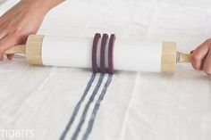 DIY Grainsack Stripe Stamp