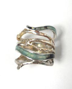 Dendro Splendida Ring van CarrieBilbo op Etsy, $200.00