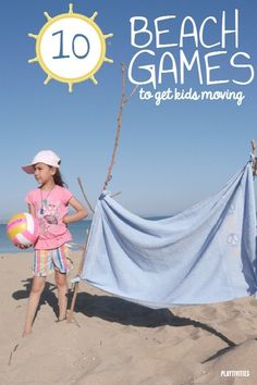 Need some ideas for keeping your kids active and engaged at the beach? 10 Beach Games For Kids To stay active and create the best vacation memories. All of the games are easy to set up and do not require additional materials. Kids Sand, Beach Kids, Beach Fun, Beach Trip, Beach Play, Beach Condo, Beach House, Videos Instagram, Photo Instagram