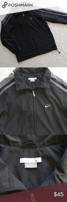 Nike Men's Track Jacket This jacket is in excellent condition! No flaws! Tag says large but looks like it could fit an XL. Thanks for looking! Nike Jackets & Coats Performance Jackets