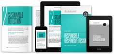 Responsible Responsive Design by Scott Jehl sweet layout and palette Portfolio Site, Tool Design, Textbook, No Response, Design Inspiration, Graphic Design, Programming, Objects, Palette