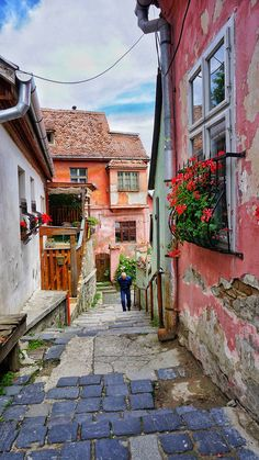 The most colorful city in the world is Sighisoara, in Romania. Colorful streets and houses adorn this medieval town in Transylvania. Check it out with this travel guide to Sighisoara.