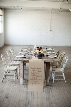 Vintage rustic table: http://www.stylemepretty.com/wisconsin-weddings/milwaukee/2015/03/06/farm-to-table-inspiration/ | Photography: Britt Taylor - http://britttaylorphotography.com/