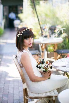 Chic Bohemian Bride   Mi Belle Photography   TheKnot.com