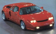 Kodiak F1 - Originally shown at the 1983 Frankfurt Motor Show and weighing just 1080 kg, the F1 could do 0-60mph in just 5.2 seconds. It ran a 5.7ltr V8 from a Corvette and made a little over 300bhp. The Kodiak F1 never did make it past two prototypes, one of which was offered for sale on eBay and sold for about $50,000.