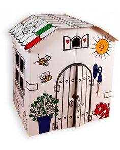 La Masia és una joguina didàctica, ecològica i respectuosa amb el medi ambient.  Fabricat amb cartró reciclable i biodegradable.