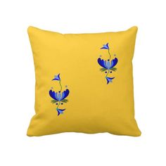 Rest your head on one of Zazzle's Yellow decorative & custom throw pillows. Mellow Yellow, Yellow Roses, Decorative Throw Pillows, Folk, Interior Design, Decorating, Living Room, Home Decor, Products