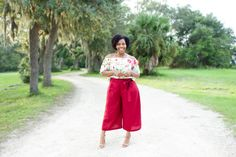 Off-The Shoulder Top & Linen Culottes: McCalls 7543 Simplicity 1069  http://www.brittanyjjones.com/home/mccalls-7543-simplicity-1069