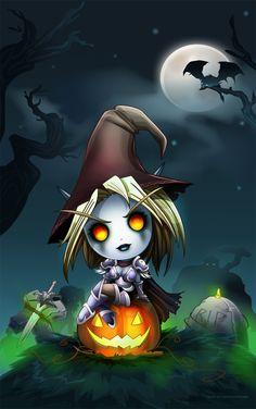 Forsaken's Hallowe'en #warcraft