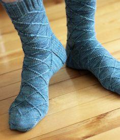Business Casual sock pattern by tanislavallee, via Flickr