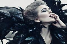 Queen of Ravens by Avine.deviantart.com