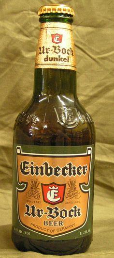 Einbrecker ur bock dunkel.             Einbrecker Brauhaus,                Lower Saxony, Germany.