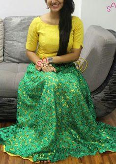 Lehenga Gown, Anarkali Dress, Dress Indian Style, Indian Dresses, Kalamkari Dresses, Full Gown, Frock Patterns, Lehenga Designs, Indian Designer Wear