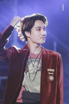Kai - 161009 Asia Song Festival in Busan Credit: B1ueJeans. Jongin is an actual fairy