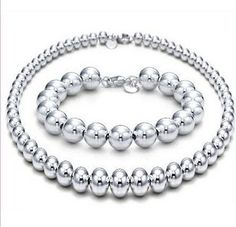 Tiffany Jewelry Sets Round Bead This Tiffany Jewelry Product Features: Category: Tiffany  Co Sets Material: Sterling Silver http://fashionjewel.orientretreatla.com/