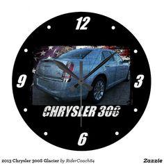 2013 Chrysler 300S Glacier Large Clock