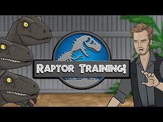 Jurassic World - Raptor Training? - YouTube