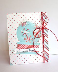 Cute shaker card by Emily Branch @ branch out designs