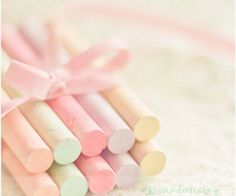 I remember when pastel chalk first came out what excitement to see it in my easter basket.