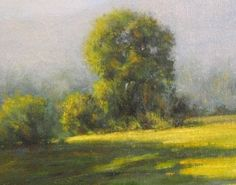 Early Light Vermont by Mark Saenger Oil ~ 8 x 8