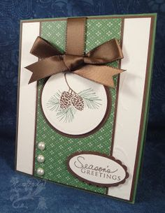 The Diva Stamper: Divine Diva Inspiration Challenge Stampin' Up! Christmas Cards To Make, Xmas Cards, Christmas Greetings, Handmade Christmas, Holiday Cards, Christmas Ideas, Fall Cards, Winter Cards, Paper Cards