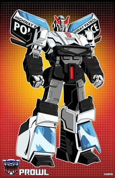 G1 Prowl by AJSabino.deviantart.com on @deviantART