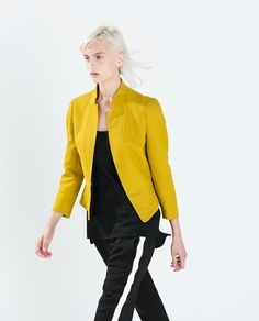 Image 3 of PEPLUM BLAZER from Zara