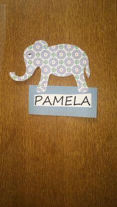 Elephant door tags -Destiny