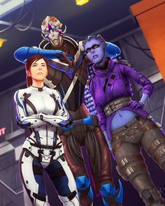 Mass Effect Andromeda - Mission One by ghostfire