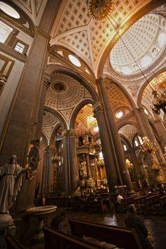 Puebla's Cathedral by Cristobal Garciaferro Rubio, via 500px