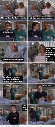 I love scrubs