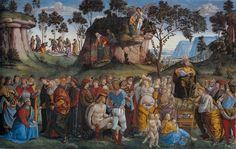 L'algoritmo che giudica le opere d'arte - Testamento e morte di Mosè di Bartolomeo della Gatta e Luca Signorelli (1482, Cappella sistina) - Focus.it