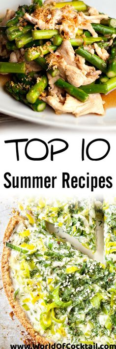 Facebook Twitter Pin it! Do you want something lighter, while properly and eat well? In that case, you are in the right place. We bring you the ten best recipes that will come in handy not only on hot summer days. 1.Flambéed chicken with asparagus Recipe: 4 boneless, skinless chicken breasts 1 tbsp seasoned plain …