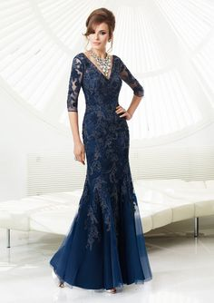 70918 Tulle/Lace Dress