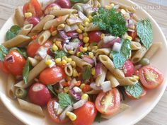 Pasta Salad, Ethnic Recipes, Food, Crab Pasta Salad, Noodle Salads, Meals, Macaroni Salad
