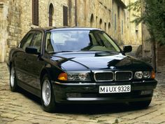 1994 BMW 740iL (E38)  This is my BMW.....love it.
