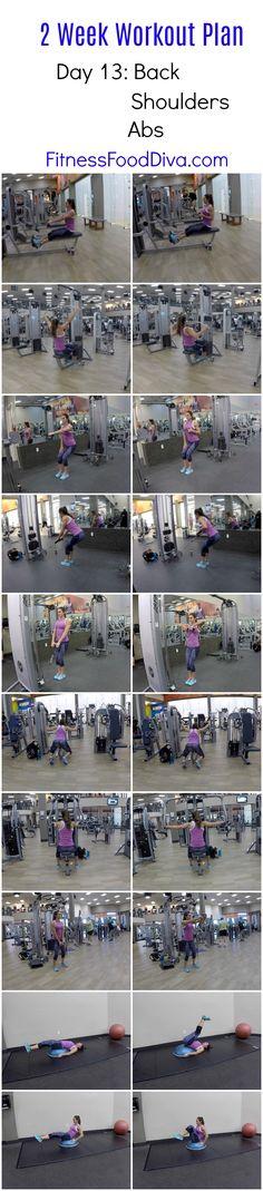 NEW! 2 Week Workout Plan: Day 13
