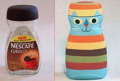 Coffee jar cat by Eric Barclay