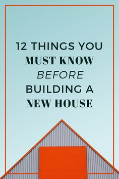 Building a new house? This post explains twelve critical tips for getting throug. - Building a new house? This post explains twelve critical tips for getting through the process with n - Building A House Checklist, Home Building Tips, House Building, Building Ideas, Building Your Own Home, Building Costs, Design Your Own Home, Building Design, The Plan