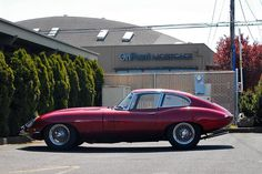 A 1966 Jaguar E-Type XKE coupe 4.2